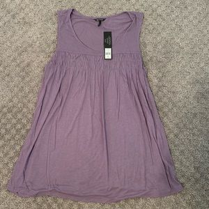 🛑NWT Beautiful Purple Smocked Tunic Size XL